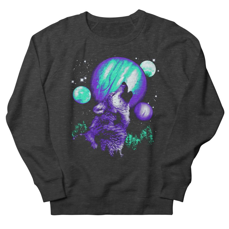 Space Wolf Men's Sweatshirt by Sushilove Official Store