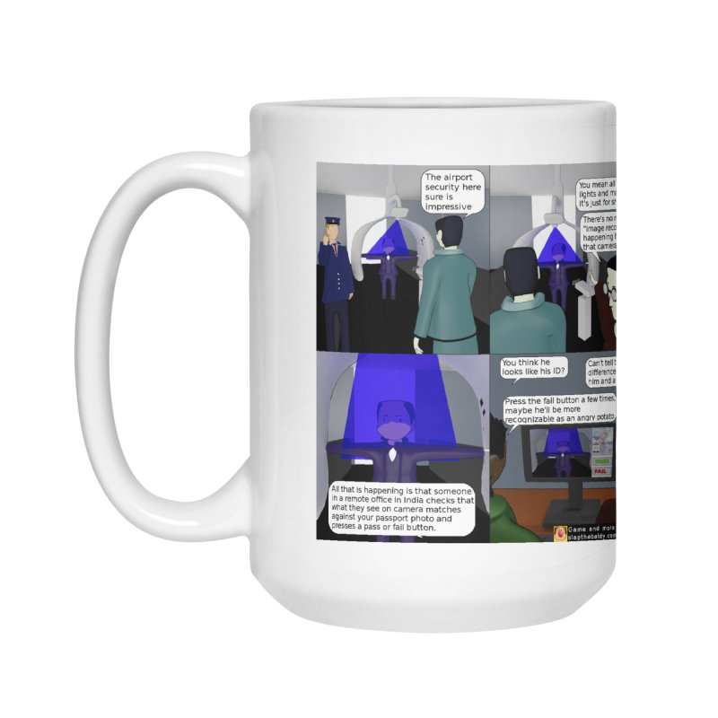 Slap the Baldy: Advanced Airport Security Accessories Mug by SushiMouse's Artist Shop