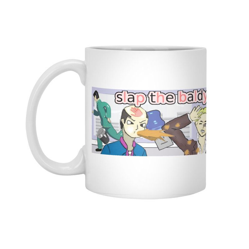 Slap the Baldy Accessories Standard Mug by SushiMouse's Artist Shop