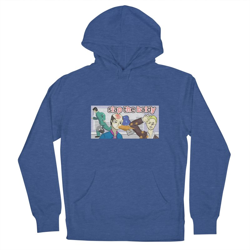 Slap the Baldy Women's French Terry Pullover Hoody by SushiMouse's Artist Shop