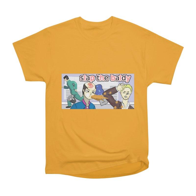 Slap the Baldy Women's Heavyweight Unisex T-Shirt by SushiMouse's Artist Shop