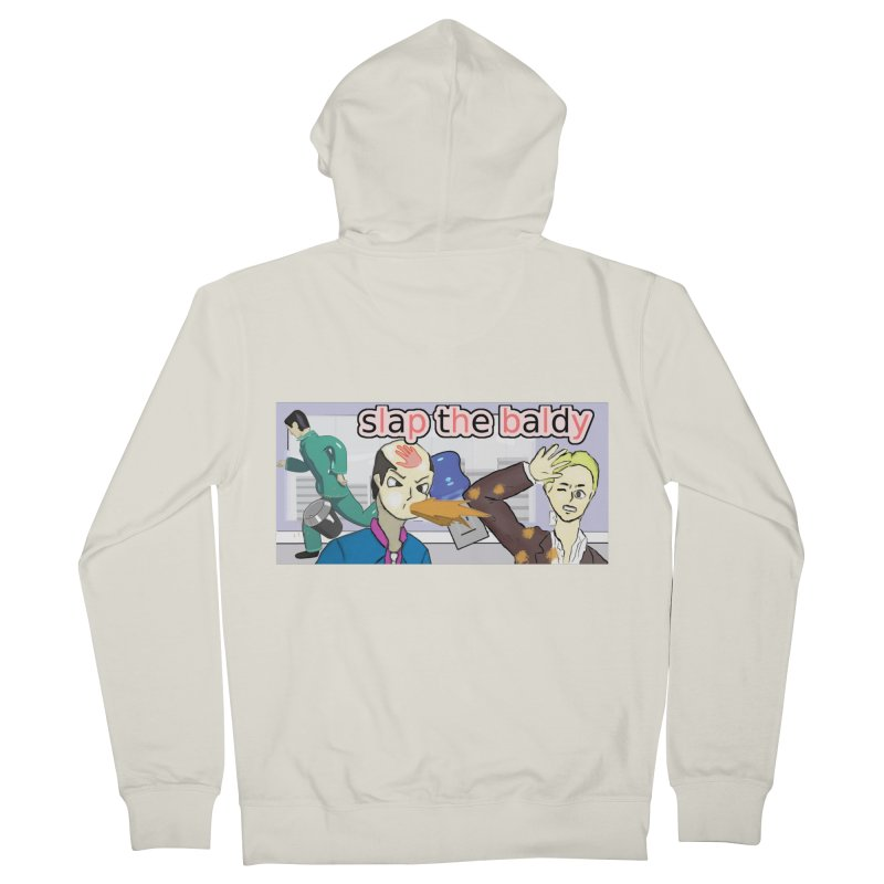 Slap the Baldy Women's Zip-Up Hoody by SushiMouse's Artist Shop
