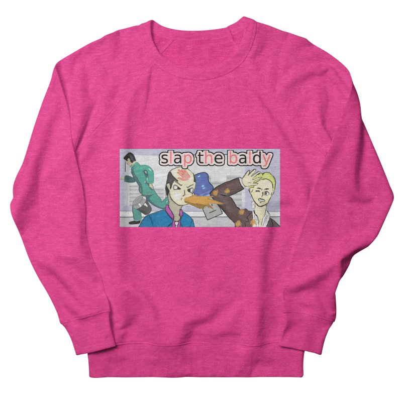 Slap the Baldy Women's French Terry Sweatshirt by SushiMouse's Artist Shop