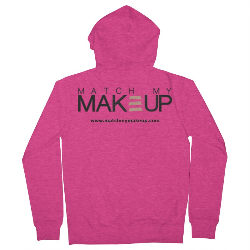 Match My Makeup Women's Zip-Up Hoody by SushiMouse's Artist Shop