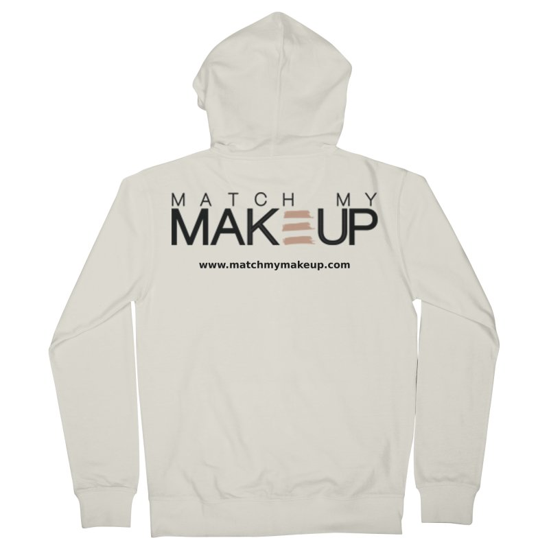 Match My Makeup Women's French Terry Zip-Up Hoody by SushiMouse's Artist Shop