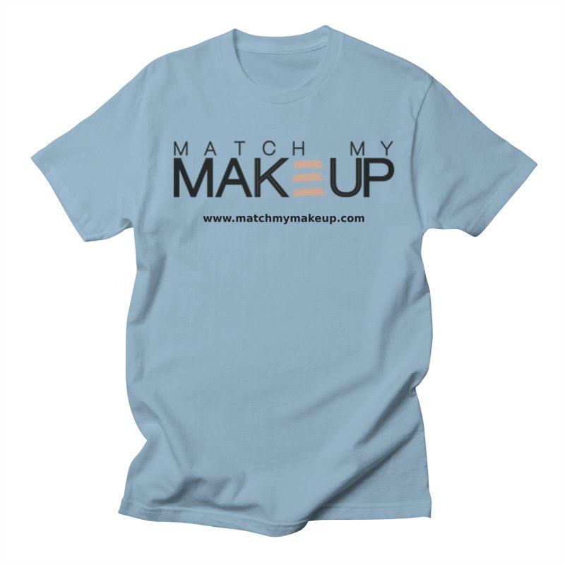 Match My Makeup Women's Regular Unisex T-Shirt by SushiMouse's Artist Shop