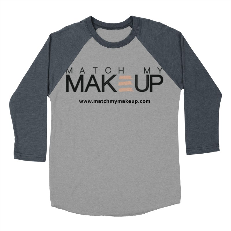 Match My Makeup Women's Baseball Triblend Longsleeve T-Shirt by SushiMouse's Artist Shop