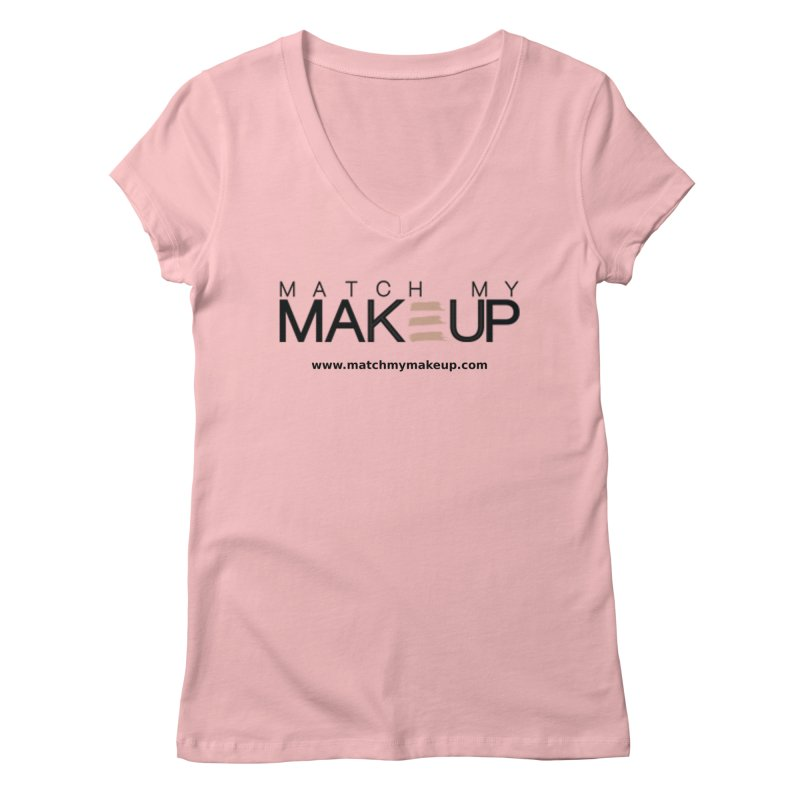 Match My Makeup Women's Regular V-Neck by SushiMouse's Artist Shop