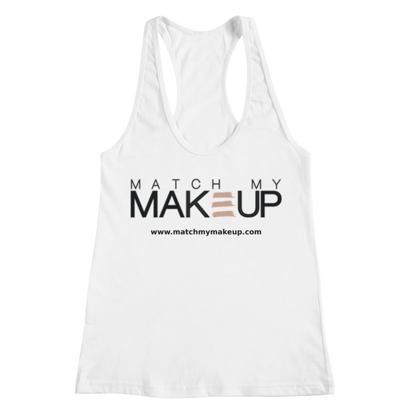 Match My Makeup Women's Racerback Tank by SushiMouse's Artist Shop