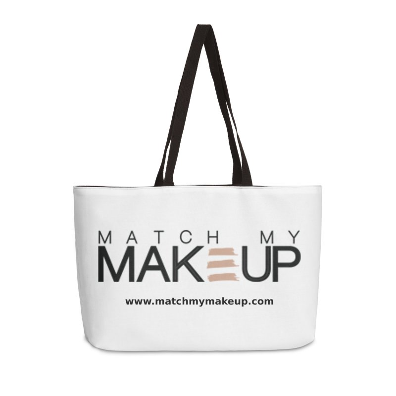 Match My Makeup Accessories Weekender Bag Bag by SushiMouse's Artist Shop