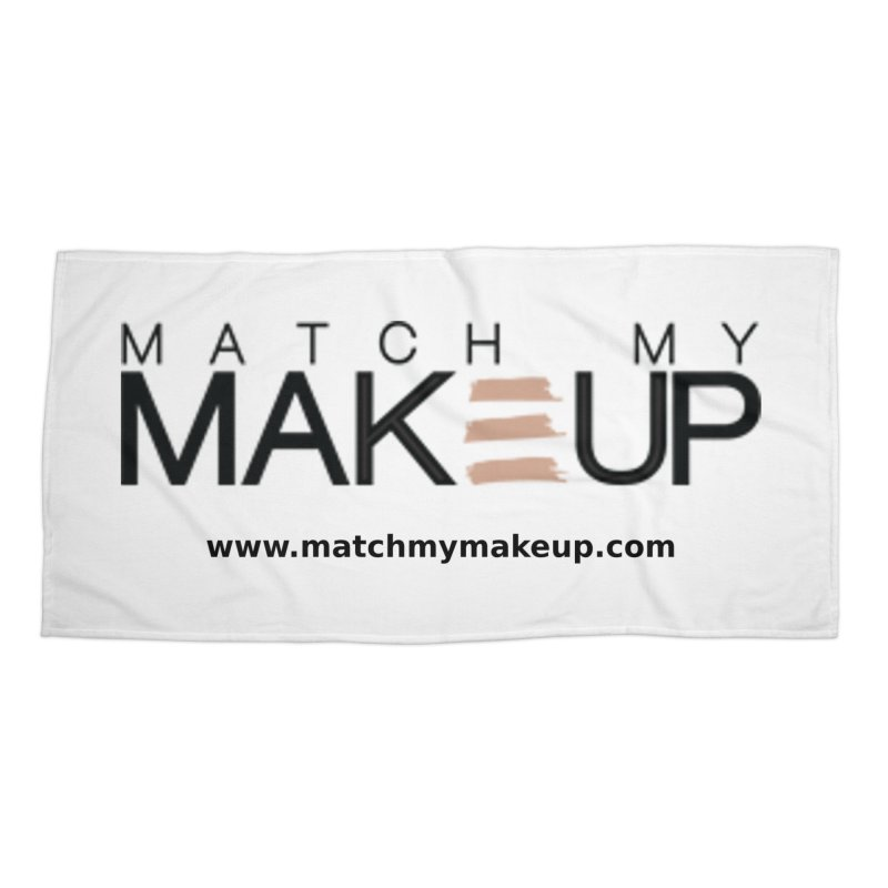 Match My Makeup Accessories Beach Towel by SushiMouse's Artist Shop