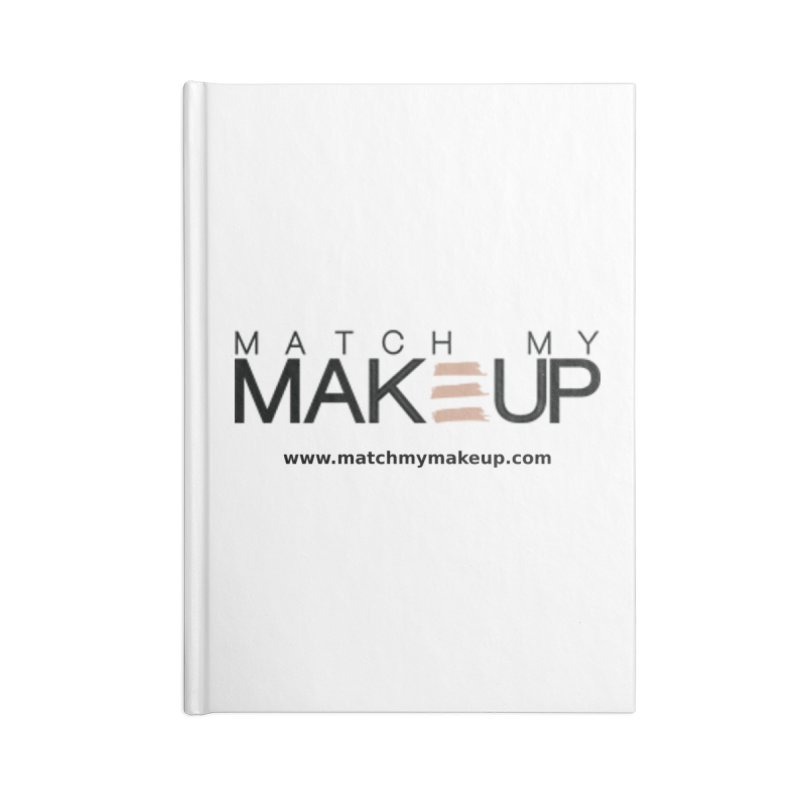 Match My Makeup Accessories Blank Journal Notebook by SushiMouse's Artist Shop