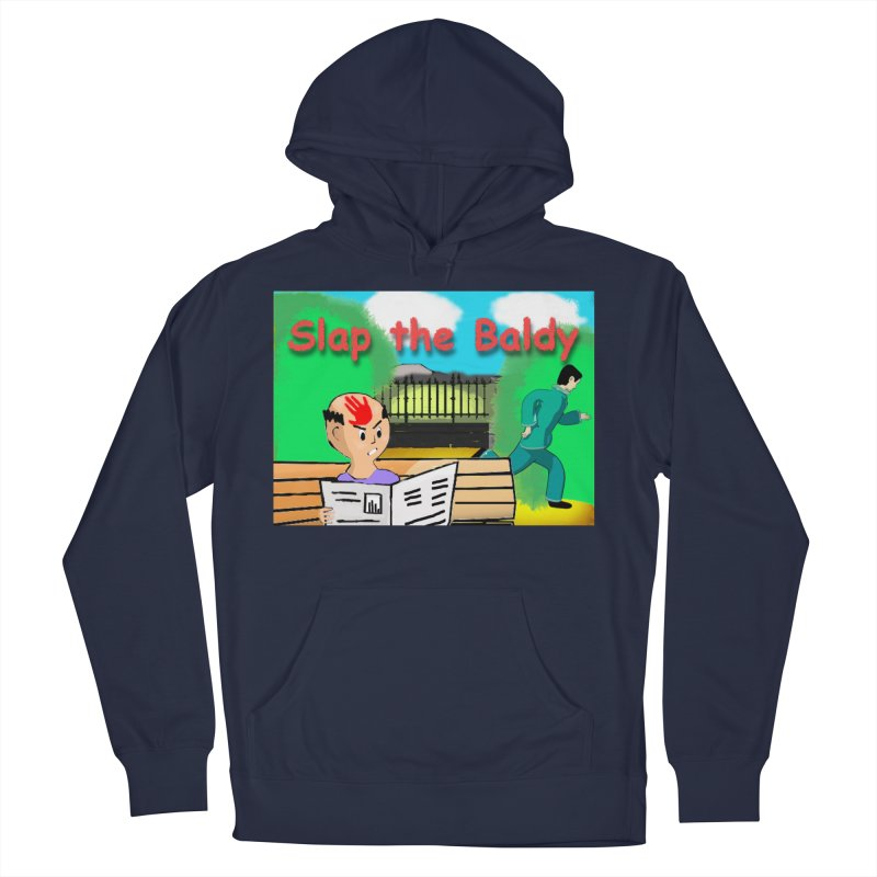 Slap the Baldy Men's Pullover Hoody by SushiMouse's Artist Shop