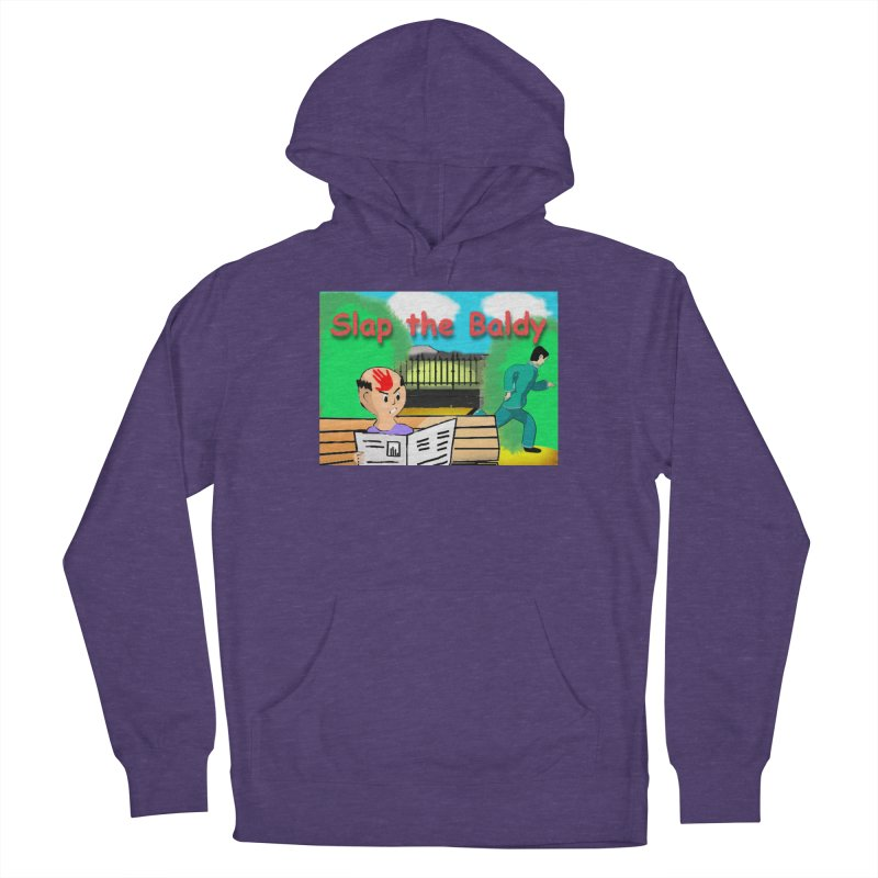 Slap the Baldy Men's French Terry Pullover Hoody by SushiMouse's Artist Shop
