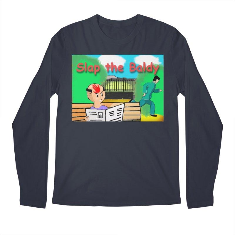 Slap the Baldy Men's Regular Longsleeve T-Shirt by SushiMouse's Artist Shop