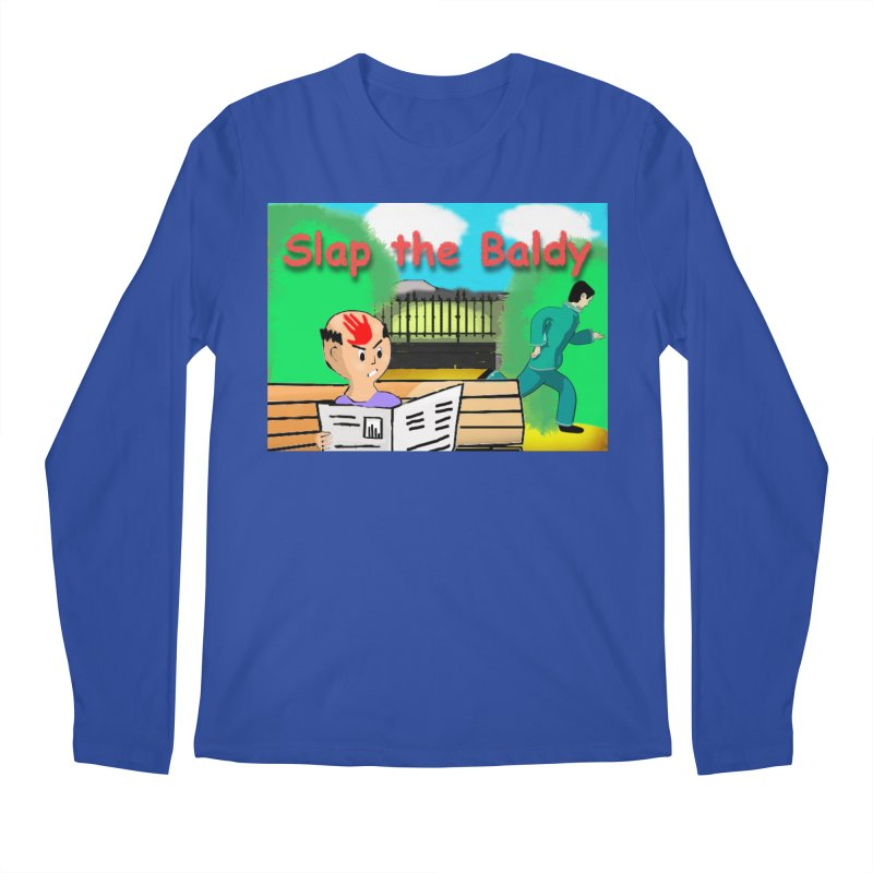 Slap the Baldy Men's Longsleeve T-Shirt by SushiMouse's Artist Shop