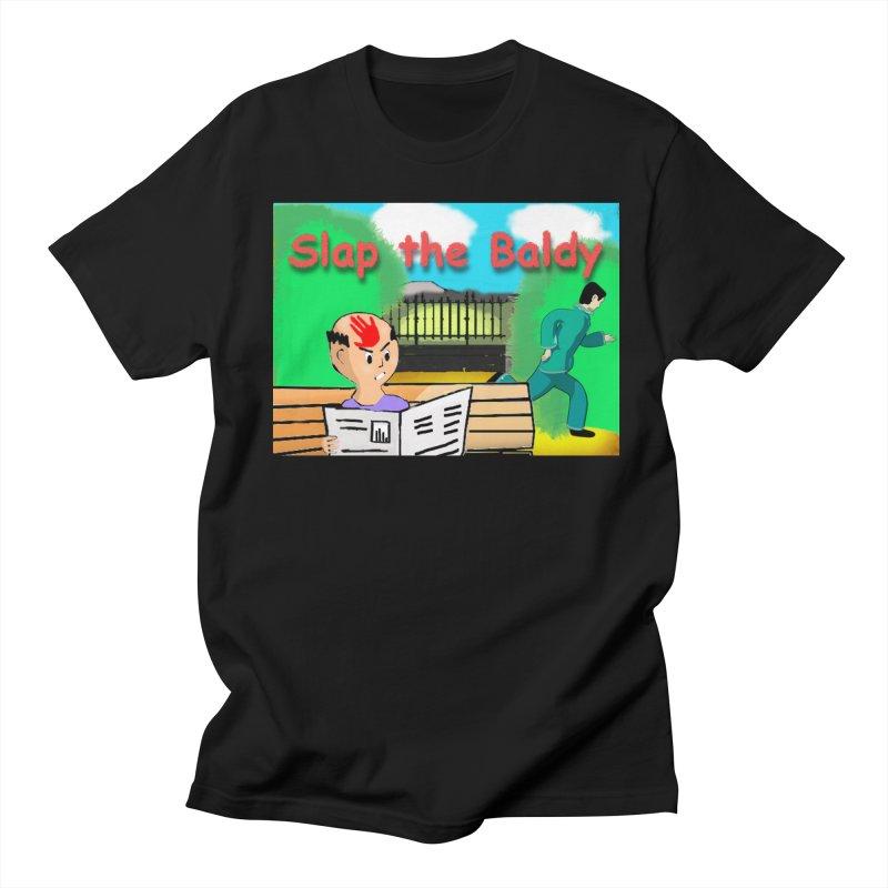 Slap the Baldy Men's T-Shirt by SushiMouse's Artist Shop