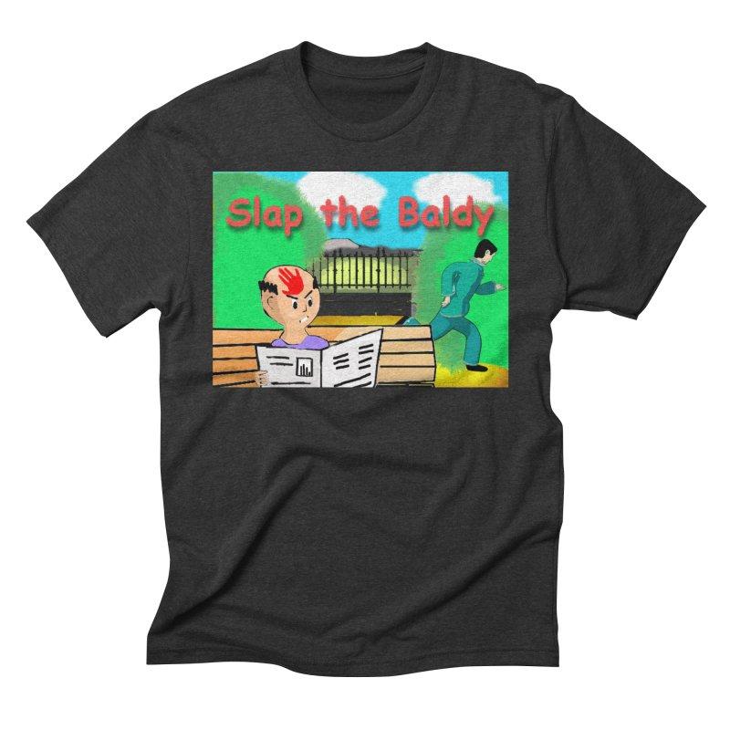Slap the Baldy Men's Triblend T-Shirt by SushiMouse's Artist Shop