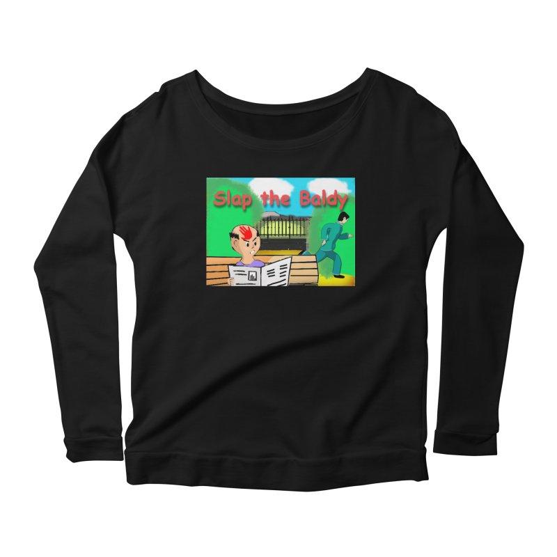 Slap the Baldy Women's Scoop Neck Longsleeve T-Shirt by SushiMouse's Artist Shop