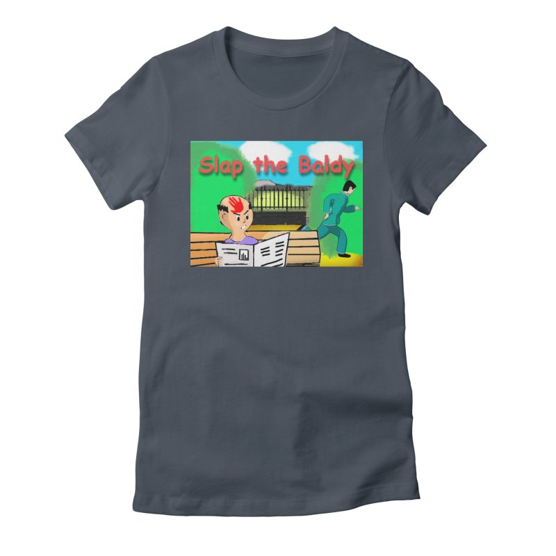 Slap the Baldy Women's T-Shirt by SushiMouse's Artist Shop