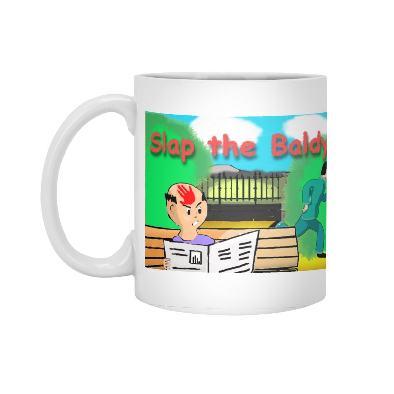 Slap the Baldy Accessories Mug by SushiMouse's Artist Shop