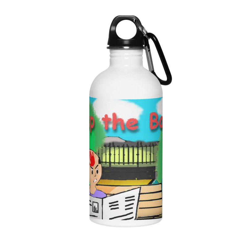 Slap the Baldy Accessories Water Bottle by SushiMouse's Artist Shop