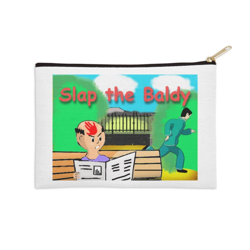 Slap the Baldy Accessories Zip Pouch by SushiMouse's Artist Shop
