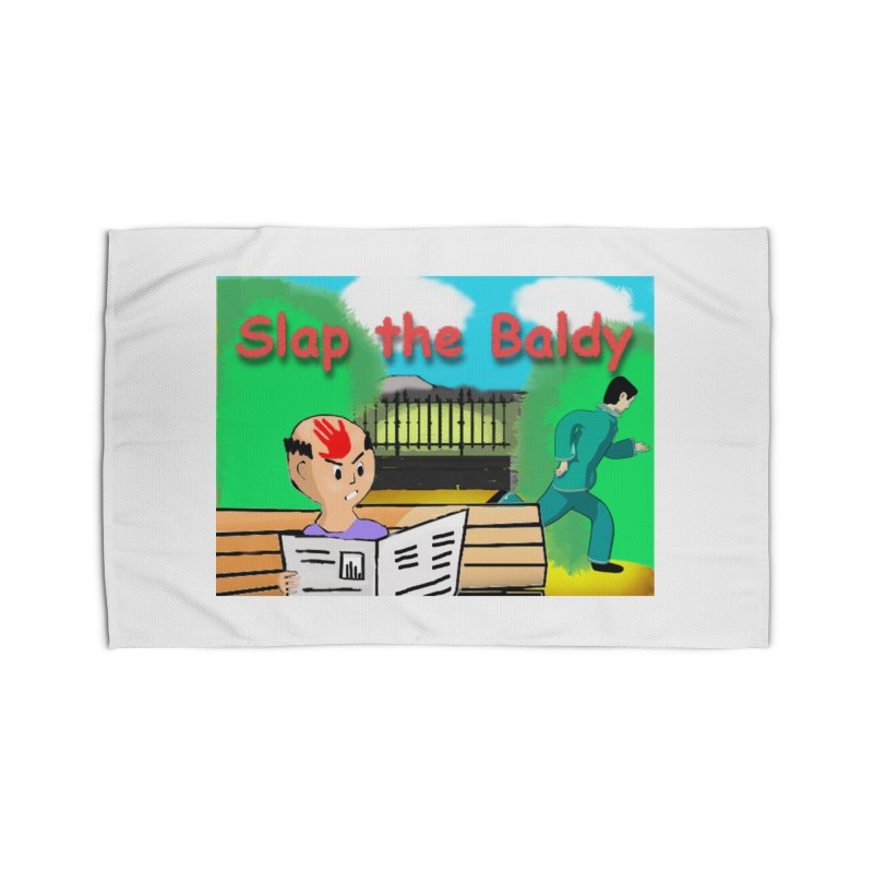Slap the Baldy Home Rug by SushiMouse's Artist Shop