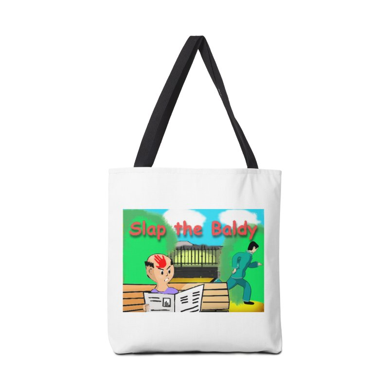 Slap the Baldy Accessories Bag by SushiMouse's Artist Shop