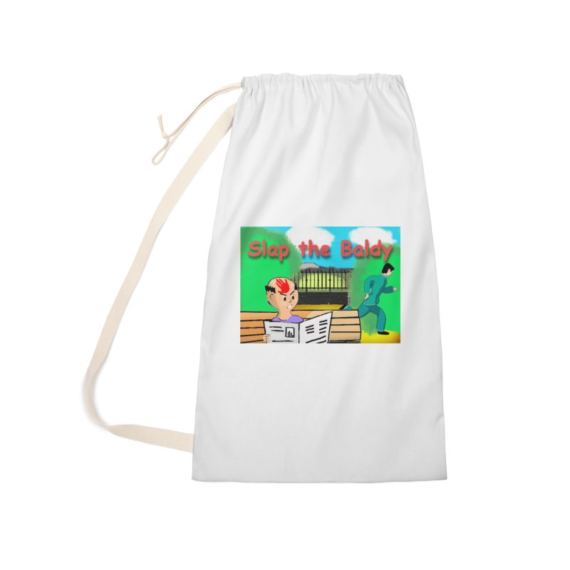 Slap the Baldy Accessories Laundry Bag Bag by SushiMouse's Artist Shop