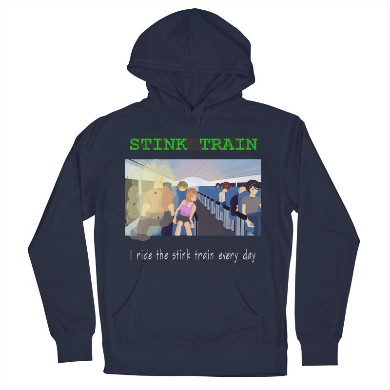 Stink Train - the Puzzle game where you have to avoid the smelly passengers Men's Pullover Hoody by SushiMouse's Artist Shop