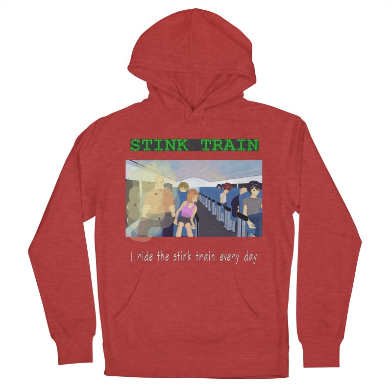 Stink Train - the Puzzle game where you have to avoid the smelly passengers Women's French Terry Pullover Hoody by SushiMouse's Artist Shop