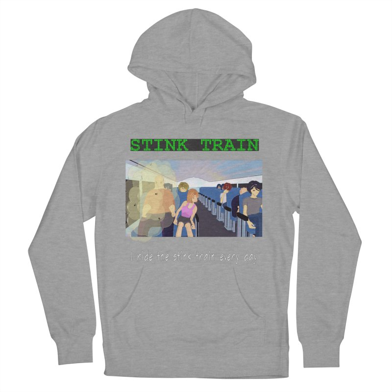 Stink Train - the Puzzle game where you have to avoid the smelly passengers Men's French Terry Pullover Hoody by SushiMouse's Artist Shop
