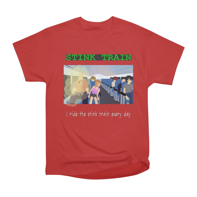 Stink Train - the Puzzle game where you have to avoid the smelly passengers Men's Classic T-Shirt by SushiMouse's Artist Shop