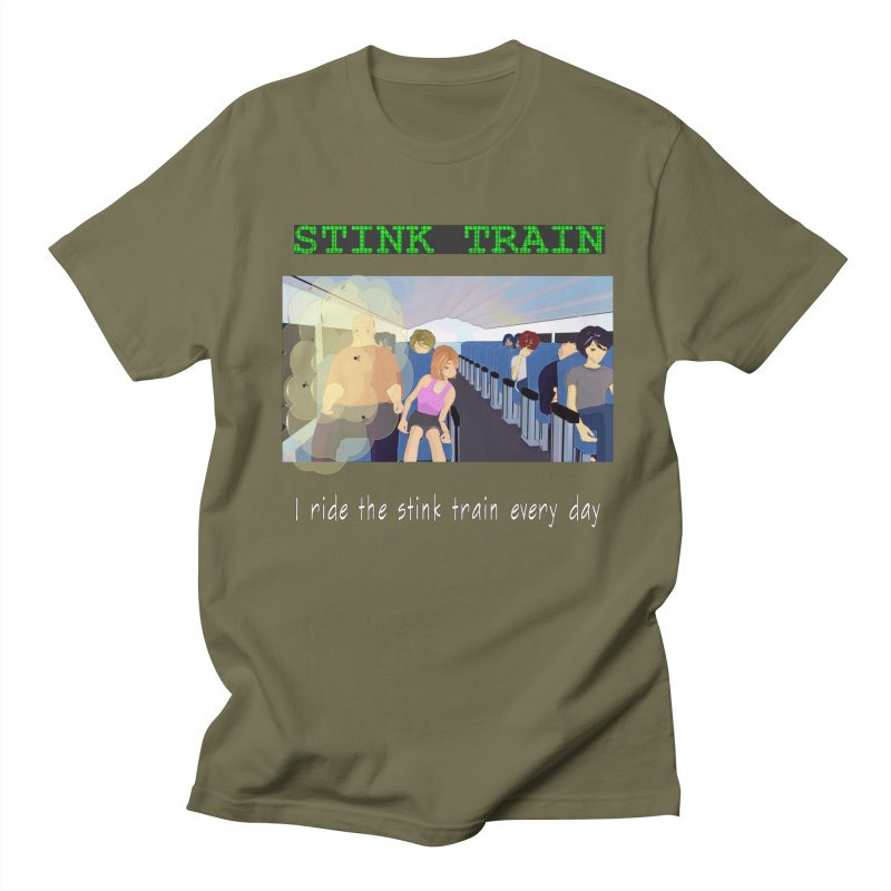 Stink Train - the Puzzle game where you have to avoid the smelly passengers Women's Regular Unisex T-Shirt by SushiMouse's Artist Shop