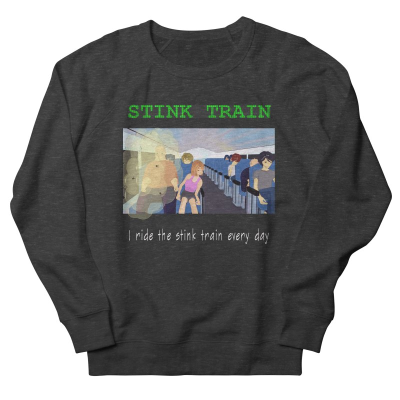 Stink Train - the Puzzle game where you have to avoid the smelly passengers Women's French Terry Sweatshirt by SushiMouse's Artist Shop