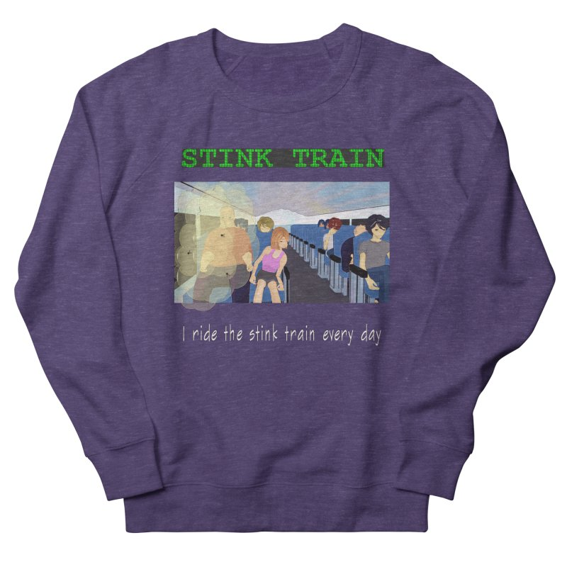 Stink Train - the Puzzle game where you have to avoid the smelly passengers Men's Sweatshirt by SushiMouse's Artist Shop