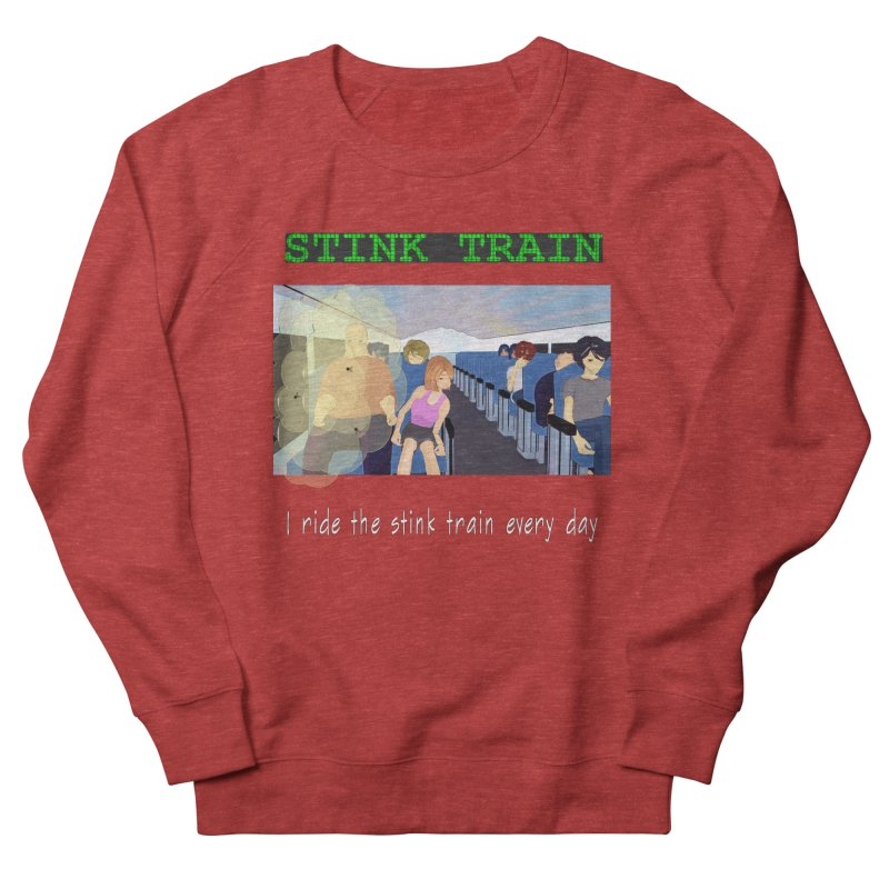 Stink Train - the Puzzle game where you have to avoid the smelly passengers Men's French Terry Sweatshirt by SushiMouse's Artist Shop