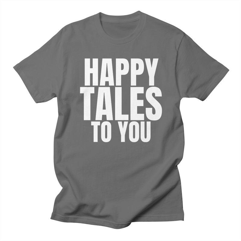 Happy Tales_white Men's T-Shirt by SusieDrinks's Artist Shop