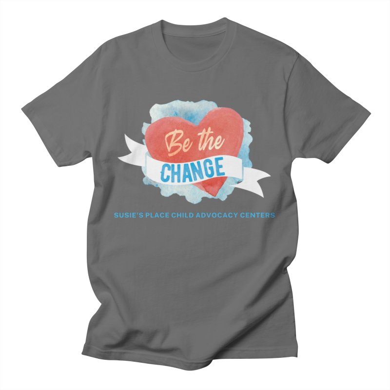 Be the Change Men's T-Shirt by Susie's Place