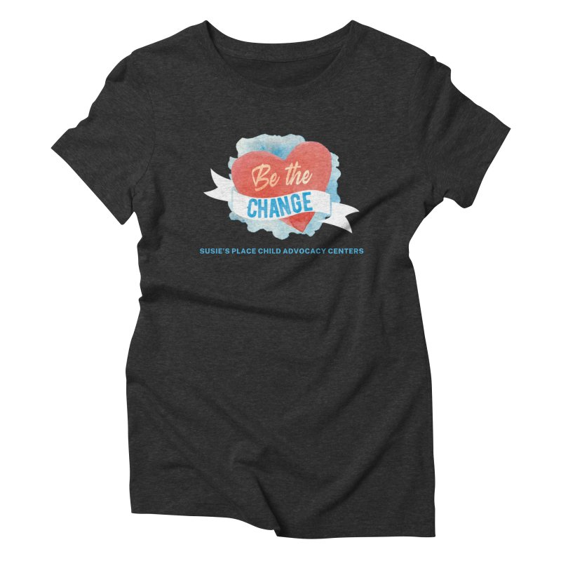 Be the Change Women's T-Shirt by Susie's Place