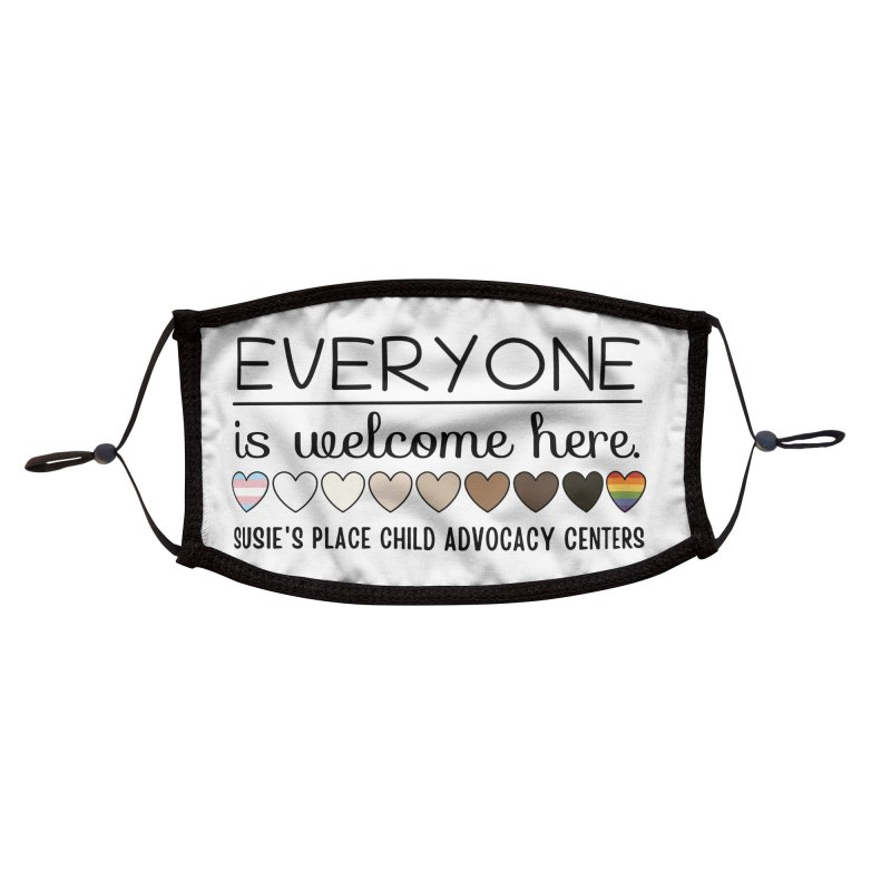 Everyone's Welcome Accessories Face Mask by Susie's Place