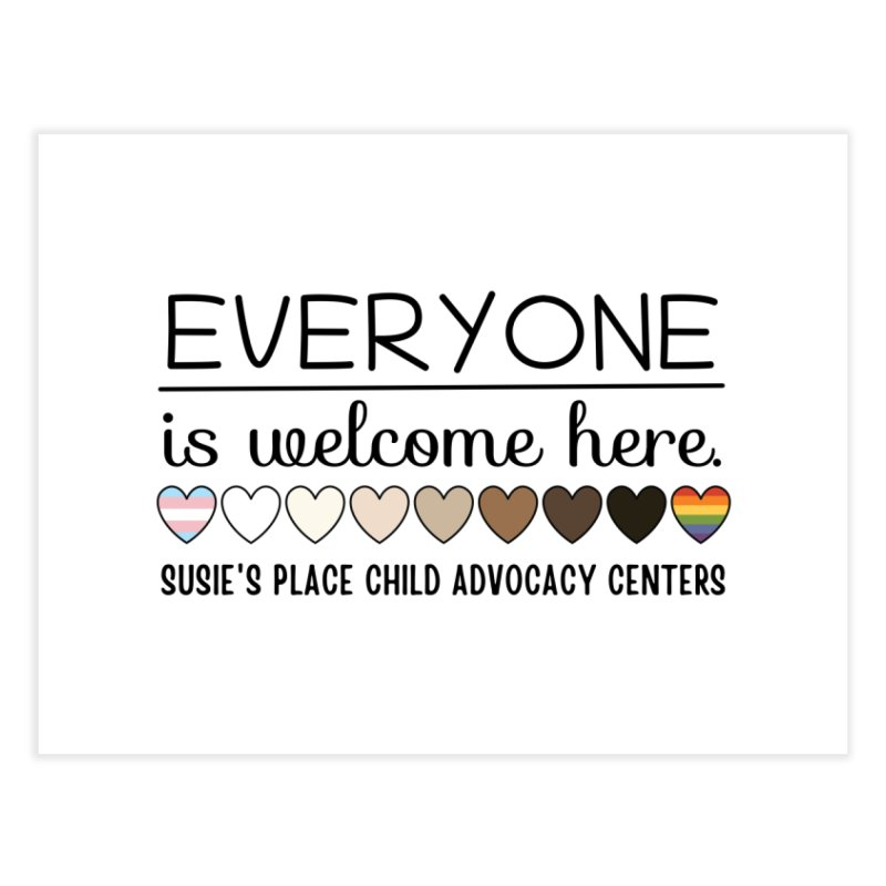 Everyone's Welcome Home Fine Art Print by Susie's Place