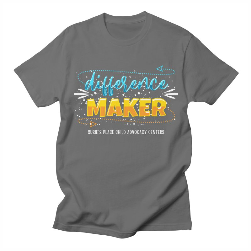 Difference Maker - Multi Men's T-Shirt by Susie's Place