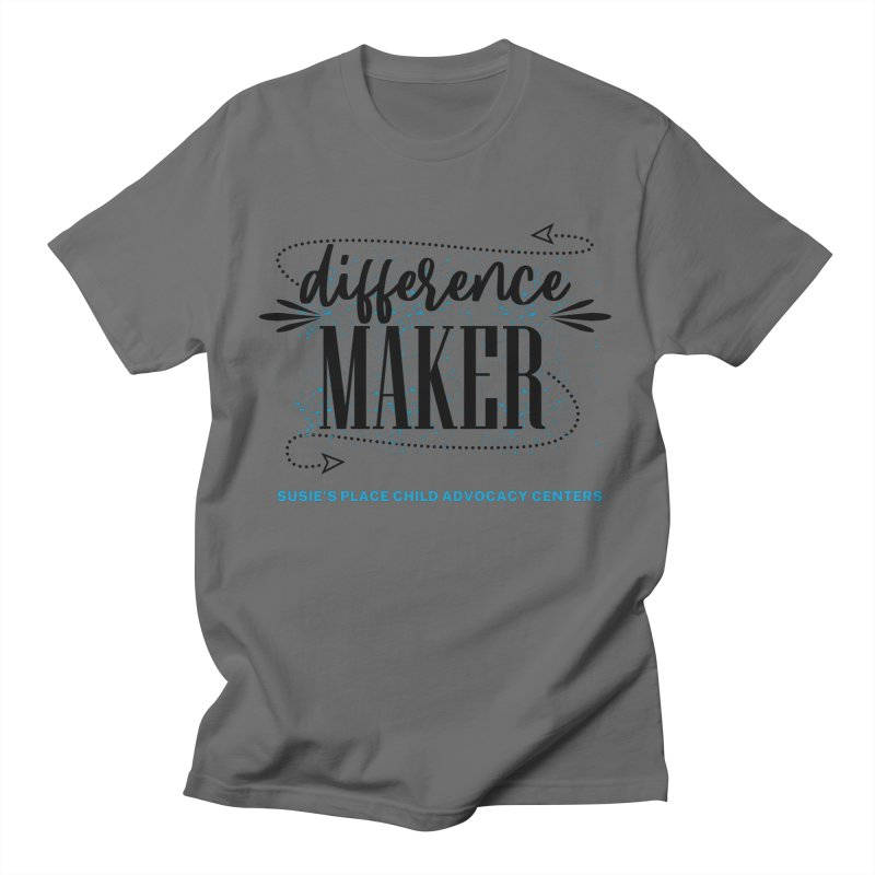 Difference Maker Men's T-Shirt by Susie's Place