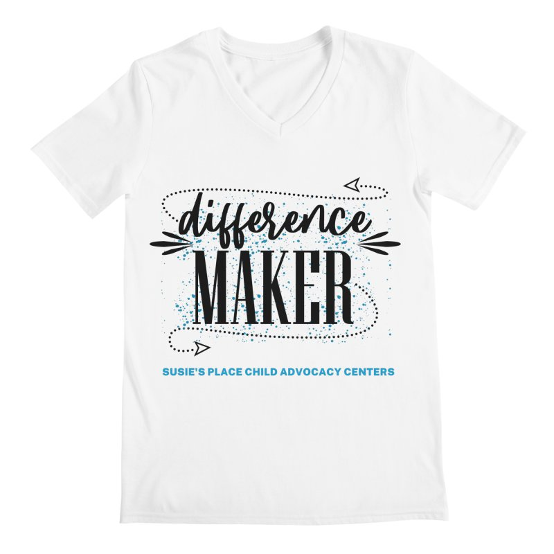 Difference Maker Men's V-Neck by Susie's Place