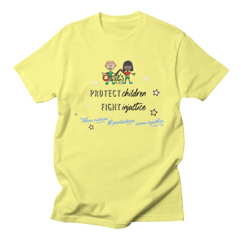 Protect Children Men's T-Shirt by Susie's Place