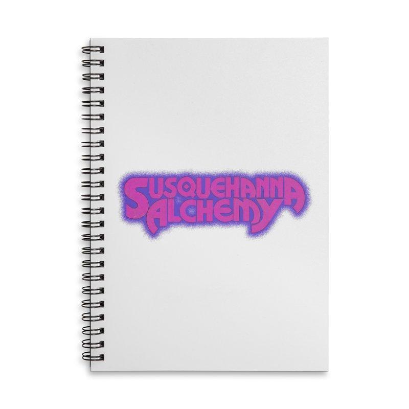 Susquehanna Alchemy - Disco Edition (t-shirts, stickers, accessories) Accessories Notebook by Susquehanna Alchemy's SWAG Shop