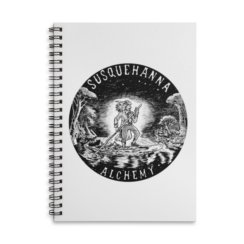 Johnne Wanne: Time Traveler - Commemorative Edition (t-shirts, stickers, accessories) Accessories Notebook by Susquehanna Alchemy's SWAG Shop