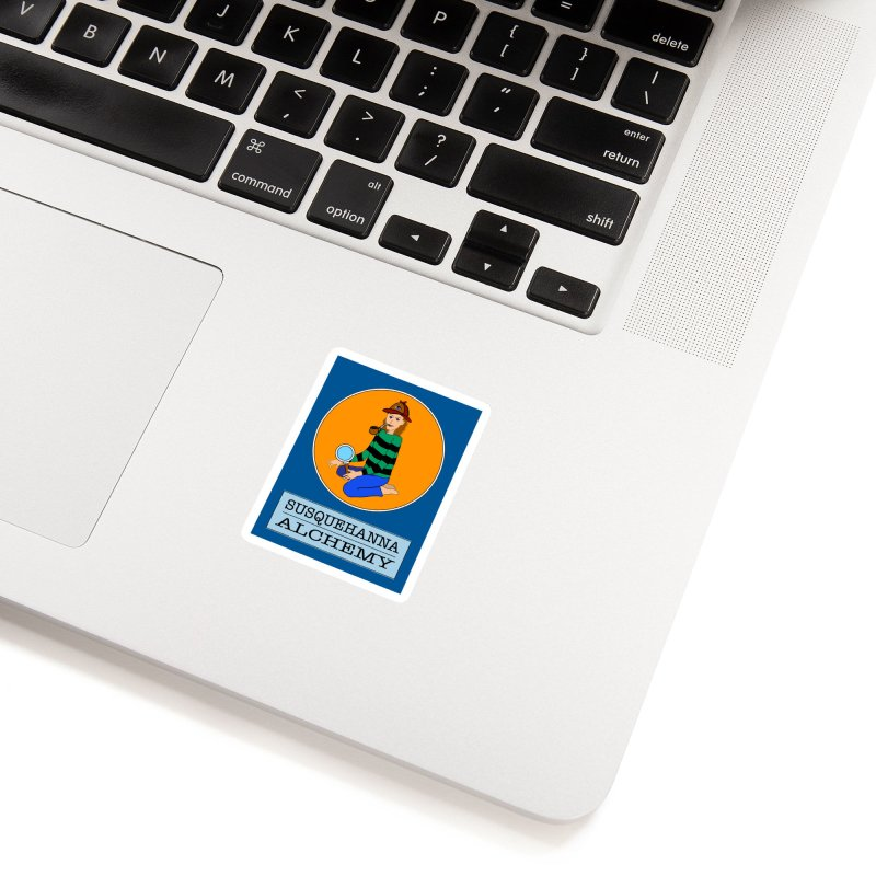 Susquehanna Investigative Services (t-shirts, stickers, accessories) Accessories Sticker by Susquehanna Alchemy's SWAG Shop